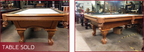 Cost To Refinish Pool Table Elcho Table - Pool table resurfacing