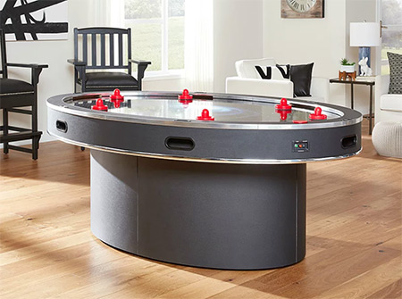 Ellipse 6 Player Air Hockey Table
